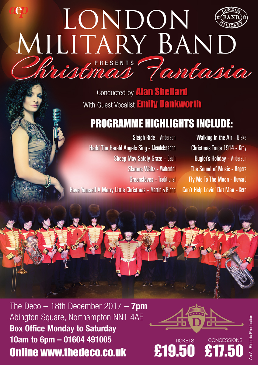 London Military Band Poster Christmas 2017.qxp_2017